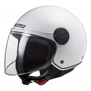 Casco jet LS2 Helmets OF558 SPHERE LUX Solid White