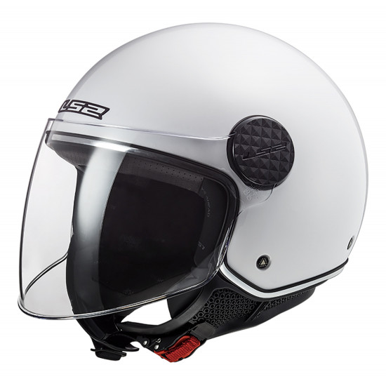 Casco jet LS2 Helmets OF558 SPHERE LUX Solid White