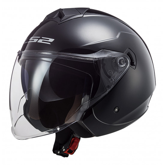 SUPEROFERTA Casco jet LS2 OF573 TWISTER II Solid Black