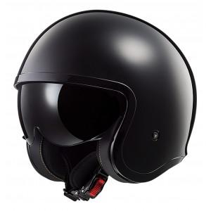 SUPEROFERTA Casco jet LS2 Helmets OF599 SPITFIRE Solid Black