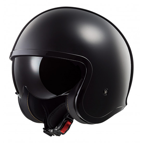 Casco jet LS2 Helmets OF599 SPITFIRE Solid Black