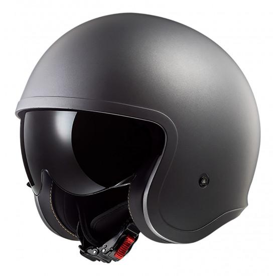 Casco jet LS2 Helmets OF599 SPITFIRE Solid Matt titanium