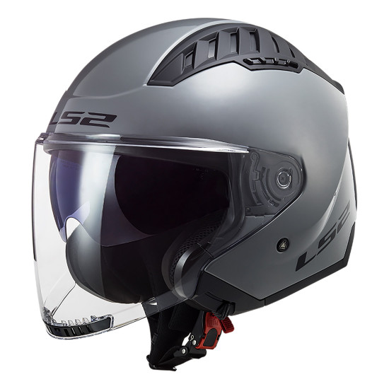 Casco jet LS2 OF600 Copter Solid Nardo Grey