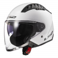 Casco jet LS2 OF600 Copter Solid White