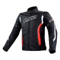 Chaqueta moto LS2 Gate Black Red