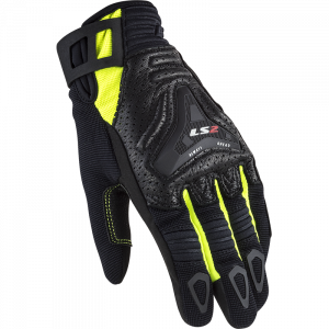 Guantes LS2 All Terrain Lady Black HV Yellow
