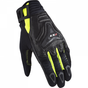 Guantes LS2 All Terrain Black HV Yellow