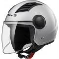 Casco jet LS2 Helmets OF562 AIRFLOW L SOLID Silver