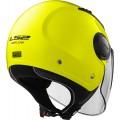 Casco jet LS2 Helmets OF562 AIRFLOW L SOLID Matt H-V Yellow