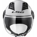 Casco jet LS2 Helmets OF562 AIRFLOW L SOLID White