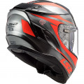 Casco integral LS2 FF327 Challenger Canon Jeans Fluo Orange