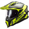 LS2 MX701 EXPLORER HPFC Alter Matt Black HV Yellow