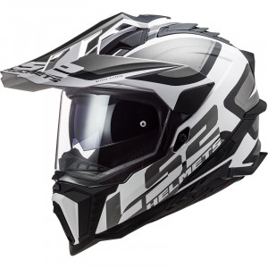 LS2 MX701 EXPLORER HPFC Alter Matt Black White