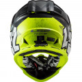 Casco cross/enduro LS2 Helmets MX437 FAST Crusher Black HV Yellow