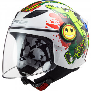 Casco INFANTIL LS2 OF602 FUNNY Croco White