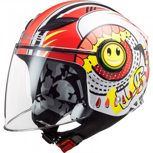Casco INFANTIL LS2 OF602 FUNNY Sluch Red
