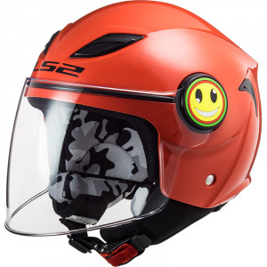 Casco INFANTIL LS2 OF602 FUNNY Solid Red