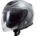 Casco jet LS2 Helmets OF521 INFINITY SOLID Nardo Grey