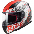 Casco integral LS2 Helmets FF353 RAPID Naughty White Red