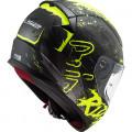 Casco integral LS2 Helmets FF353 RAPID Naughty Matt Black HV Yellow