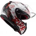 Casco integral LS2 Helmets FF353 RAPID Naughty White Red