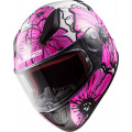 Casco integral LS2 Helmets FF353 RAPID Poppies Pink