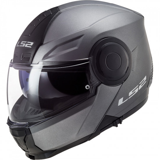 Casco Convertible LS2 ff902 SCOPE Solid Matt Titanium