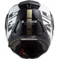 Casco Convertible LS2 ff902 SCOPE Arch White Titanium