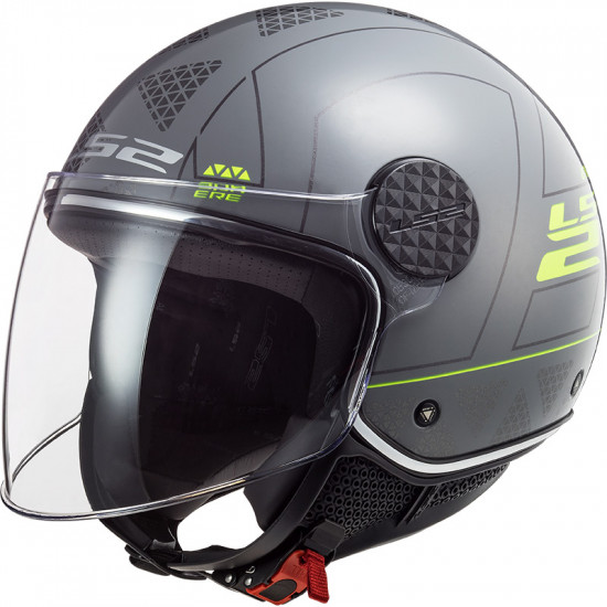 Casco jet LS2 Helmets OF558 SPHERE LUX Linus Nardo Grey