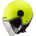 Casco jet LS2 Helmets OF558 SPHERE LUX Solid HV Yellow