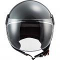 Casco jet LS2 Helmets OF558 SPHERE LUX Solid Nardo Grey