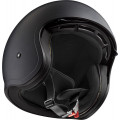 Casco jet LS2 Helmets OF599 SPITFIRE Solid Matt Black