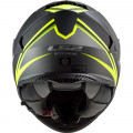 Casco integral LS2 FF800 STORM Nerve Matt Black HV Yellow