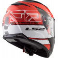 Casco integral LS2 Helmets FF320 STREAM EVO KUB Black Red