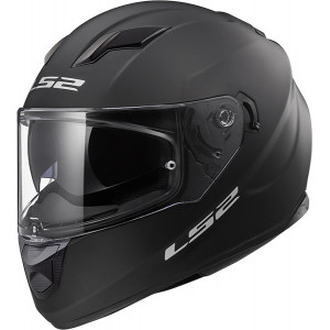 Casco integral LS2 Helmets FF320 STREAM EVO SOLID Matt Black