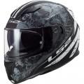Casco integral LS2 Helmets FF320 STREAM EVO THRONE Matt Black Titanium