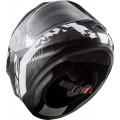Casco integral LS2 Helmets FF320 STREAM EVO HYPE White Black Titanium