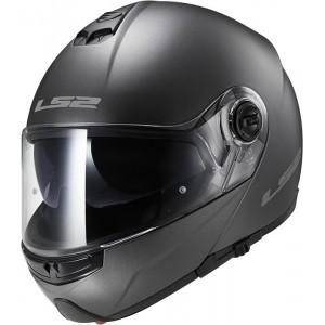 Casco convertible LS2 Helmets FF325 STROBE SOLID Matt-Titanium