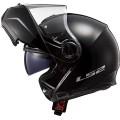 Casco convertible LS2 Helmets FF325 STROBE SOLID Black