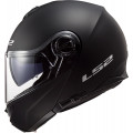 Casco convertible LS2 Helmets FF325 STROBE SOLID Matt Black