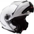 Casco convertible LS2 Helmets FF325 STROBE SOLID White