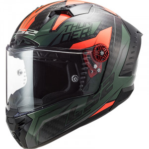LS2 FF805 THUNDER Chase Green Orange