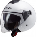 Casco jet LS2 OF573 TWISTER II Solid White