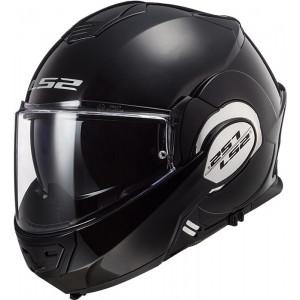 Casco convertible LS2 Helmets FF399 VALIANT SOLID Black