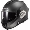 Casco convertible LS2 Helmets FF399 VALIANT SOLID Matt Titanium