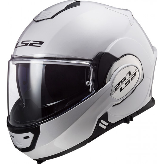 Casco convertible LS2 Helmets FF399 VALIANT SOLID White