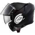 Casco convertible LS2 Helmets FF399 VALIANT SOLID Matt Black