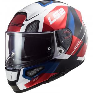 Casco integral LS2 Helmets FF397 VECTOR HPFC EVO Automat White Red