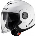 Casco jet LS2 Helmets OF570 VERSO Solid White