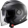 Casco jet LS2 Helmets OF570 VERSO Solid Matt Titanium
